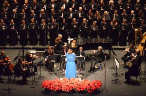 Members of the Manassas Chorale will sing at Sunday evening's benefit concert.