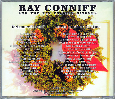 Ray Coniff Christmas Album Cover