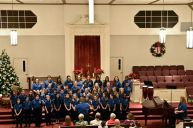 The older Greater Manassas Community Choir.
