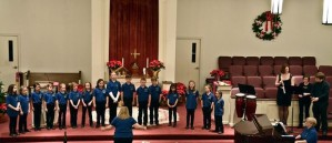 The younger Greater Manassas Community Choir, directed by Susan Dommer.