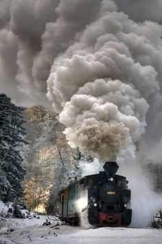 Steam Loco in Winter