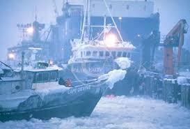 Boats in Winter